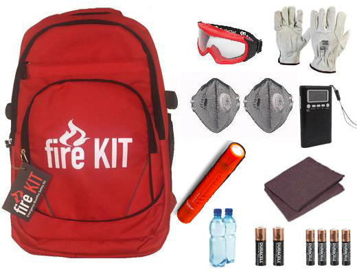 FK-01W Bushfire Emergency Safety Kit with Wool Blanket