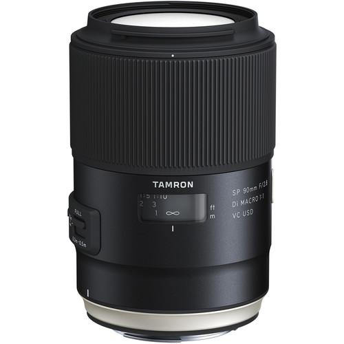 Tamron SP 90mm F2.8 Di VC USD 1:1 Macro (F017)