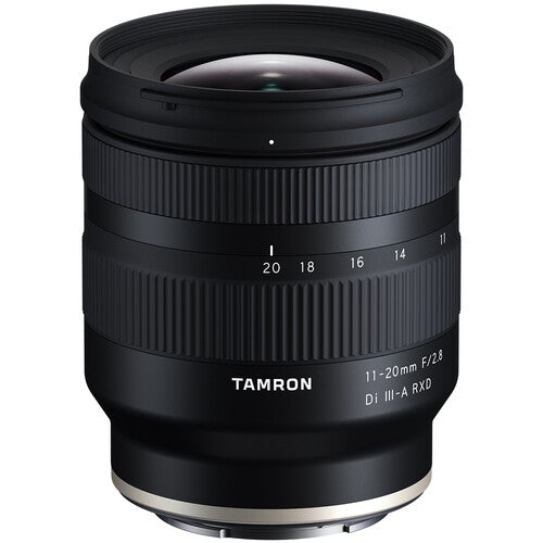 Tamron 11-20mm f/2.8 Di III-A RXD Lens