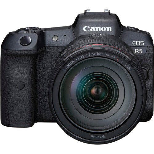 Canon EOS R5 with RF 24-105mm f/4