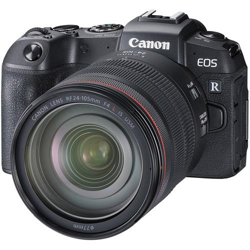 Canon EOS RP with 24-105mm F4 With EF-EOS R Adapter