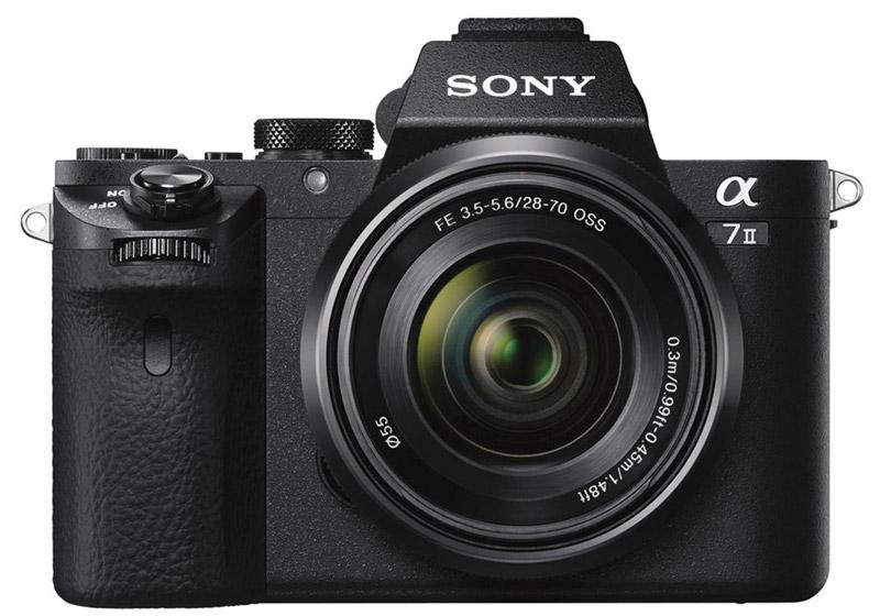 Sony Alpha A7 II Body with SEL2870 E-mount 28-70mm F3.5-5.6 OSS Lens (PAL)