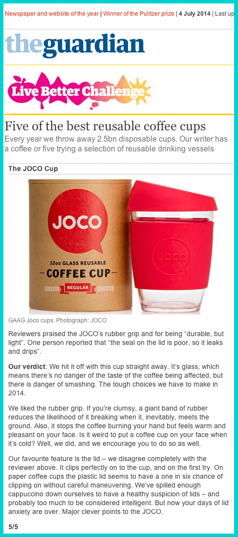 JOCO Cup Best Reusable Coffee Cup