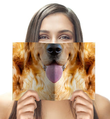 Dog Face Notebook