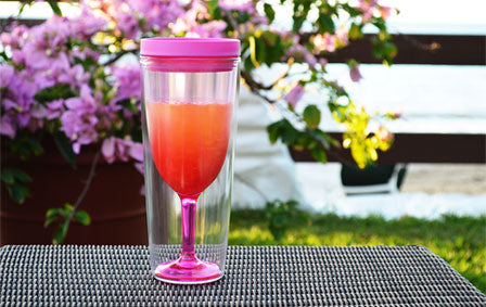 The Wine Traveller Portable Wine Glass