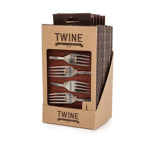 Twine Metal Fork Cheese Markers - Only £14.99! Available at Uberstar.com