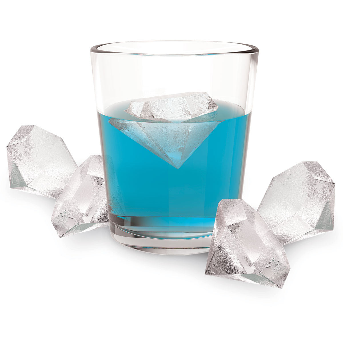 Iced Out Diamond Ice Cube Tray - Only £9.99