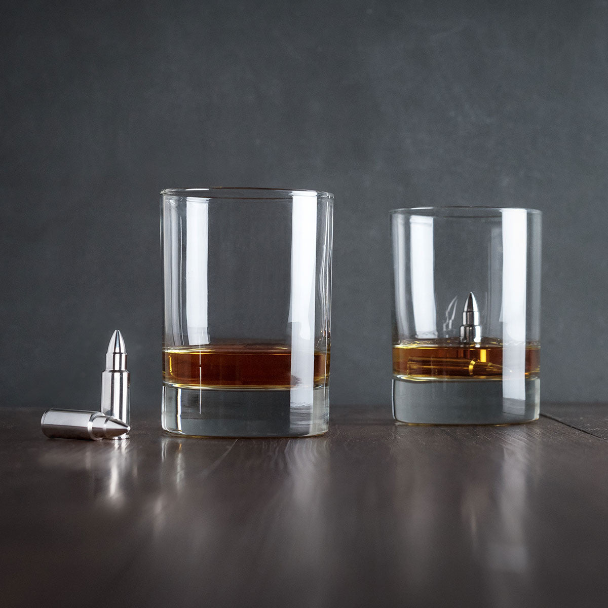 Whisky Bullets - Stainless Steel Ice Cubes