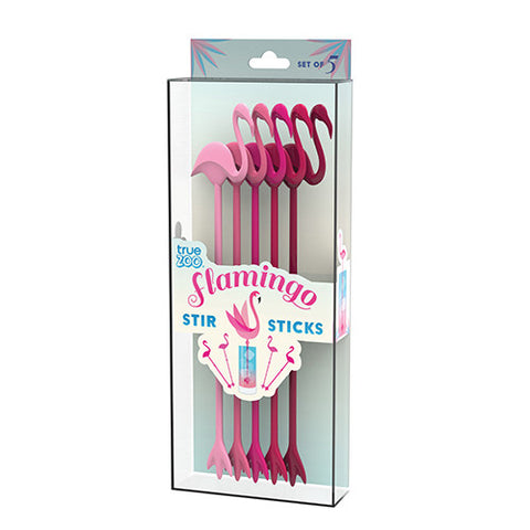 Flamingo Stir Sticks (Set of 5)