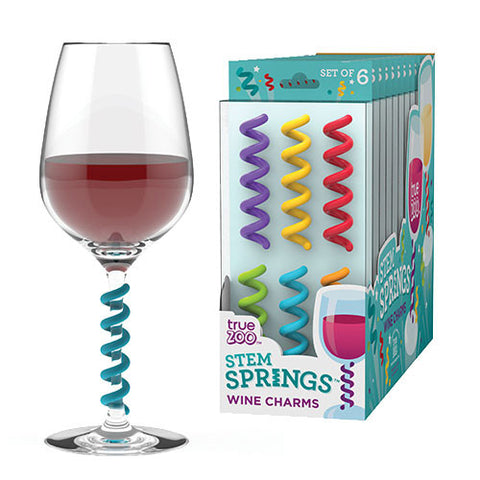Stem Spring Wine Charms