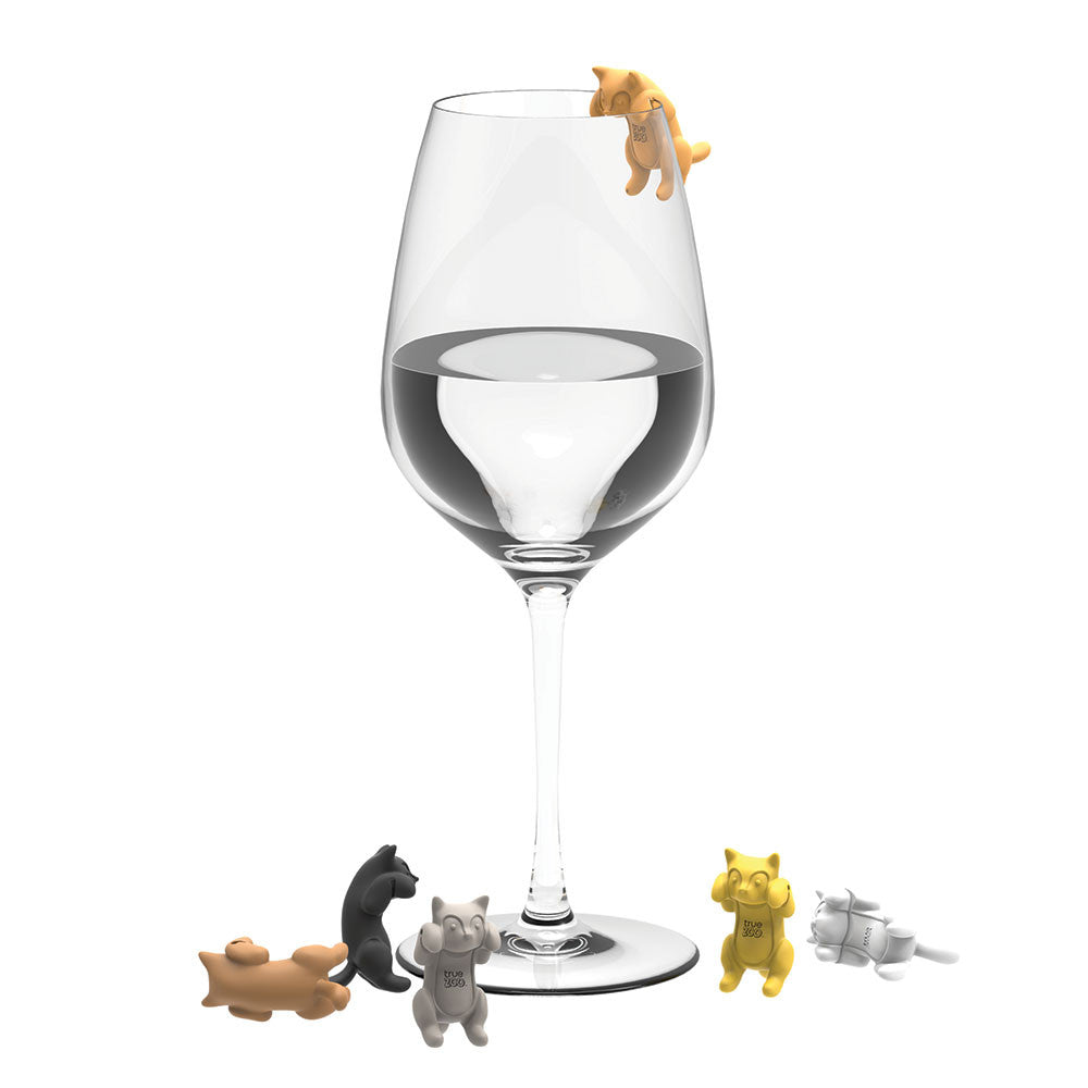 Paws Off - Cat Wine Glass Charms - Only £9.99 | Uberstar