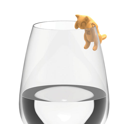Paws Off - Cat Wine Glass Charms