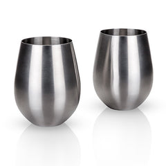 Viski Harrison Stainless Steel Tumblers - Only £28.99