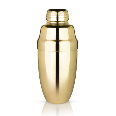 Belmont Heavyweight Gold Cocktail Shaker