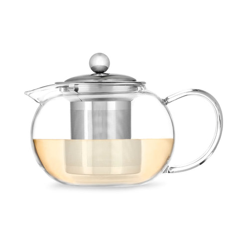 Candace Glass Teapot and Infuser