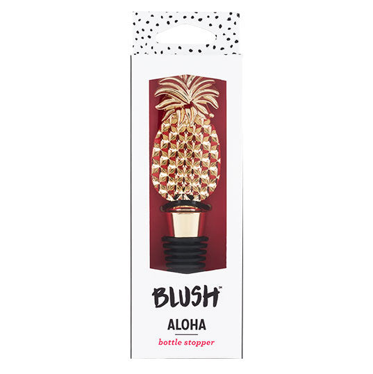 Aloha Pineapple Bottle Stopper
