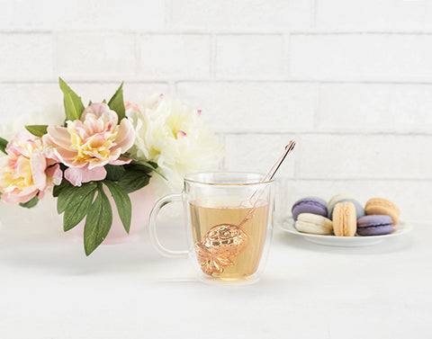 Rose Gold Pineapple Loose Leaf Tea Infuser