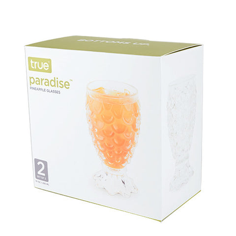 Paradise Pineapple Glasses