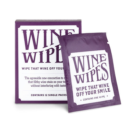 Wine Wipes - Pack of 12