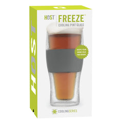HOST Freeze Cooling Pint Glass Packaging