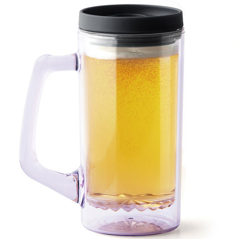 BeerNStein Portable Beer Mug - Black