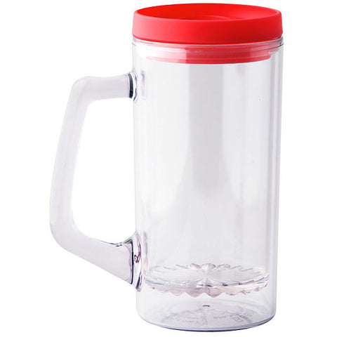 BeerNStein Portable Beer Mug - Red