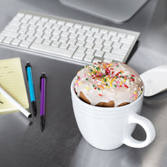 Best Morning Ever Mug - Holds Cookies, Doughnuts, Muffins, Biscuits | Uberstar.com