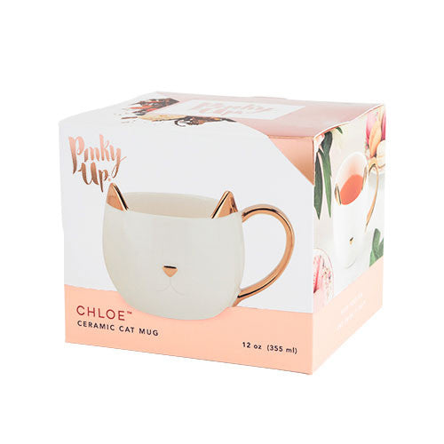 Cat Mug - White | £14.99 Uberstar.com
