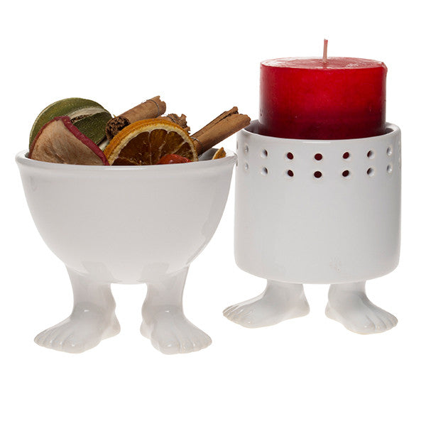 Efeet Candle Holder and Bowl
