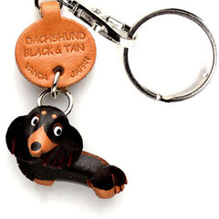Dachshund Longhair Black and Tan