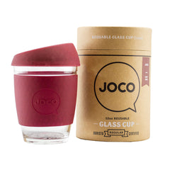 JOCO Cup Reusable Travel Mug - 12oz Ruby Red | Only £19.99