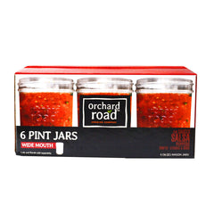 Orchard Road Canning Jars - 16oz Pint Wide Mouth, £14.99 | Uberstar
