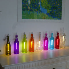 Bottlelight LED Light Wand looks great in coloured bottles. Just £22.99 from www.uberstar.com