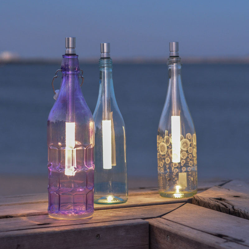Bottlelight LED Light Wand makes a great beach light. Just £22.99 from www.uberstar.com