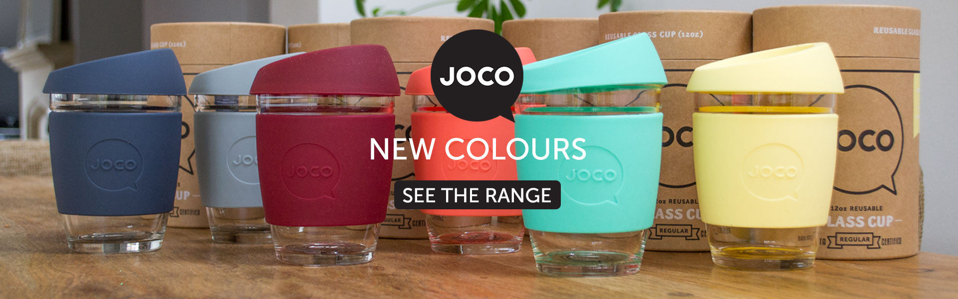 JOCO Glass Coffee Cups