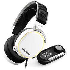 -STEELSERIES GAMING HEADSET- ARCTIS PRO + GAMEDAC - WHITE (CROSS)-STEELSERIES-Dynacor IT & Gaming Solutions