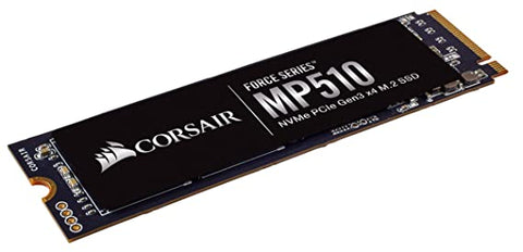 CSSD-F960GBMP510-Corsair Force Series™ MP510 960GB M.2 SSD | Read Up to 3 | 480MB/s | Write Up to 3 | 000MB/s-CORSAIR-Dynacor IT & Gaming Solutions