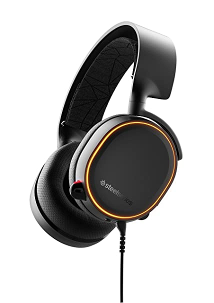 -STEELSERIES GAMING HEADSET - ARCTIS 5 2019 EDITION- BLACK (CROSS)-STEELSERIES-Dynacor IT & Gaming Solutions