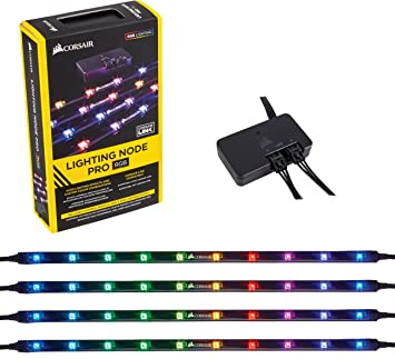 -Corsair Lighting Node Pro + 4 RGB LED Strips-CORSAIR-Dynacor IT & Gaming Solutions