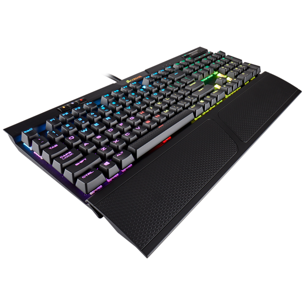 -Corsair K70 RGB MK.2 Mechanical Gaming Keyboard — CHERRY® MX Blue-CORSAIR-Dynacor IT & Gaming Solutions