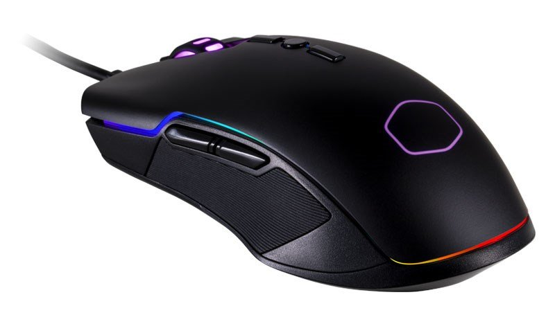 -COOLER MASTER CM310 OPTICAL GAMING MOUSE | RGB ZONE LIGHTING-COOLER MASTER-Dynacor IT & Gaming Solutions