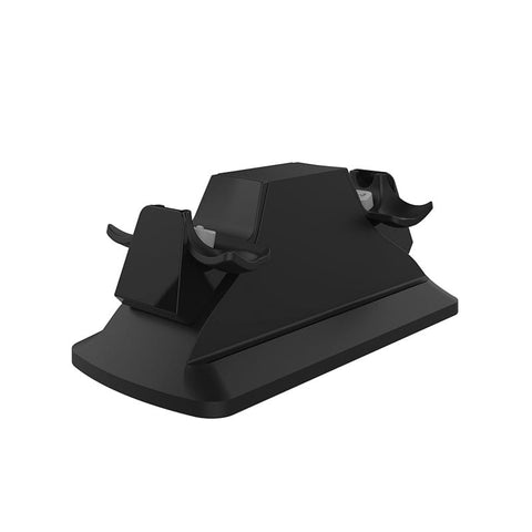 W60P190-SparkFox Dual Controller Charging Station Black - PS4-SPARKFOX-Dynacor IT & Gaming Solutions