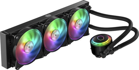 -COOLER MASTER MASTERLIQUID ML360R RGB PRE-FILLED LIQUID BASED CPU COOLER-COOLER MASTER-Dynacor IT & Gaming Solutions