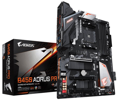 GA-B450-AORUS-PRO-GIGABYTE Aorus AMD B450 Pro Chipset for AM4 Ryzen/Athlon + Vega Graphics-GIGABYTE-Dynacor IT & Gaming Solutions