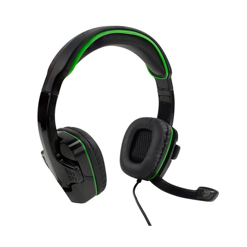 W18X102-Sparkfox X-Box One SF1 Stereo Headset Black and Green-SPARKFOX-Dynacor IT & Gaming Solutions