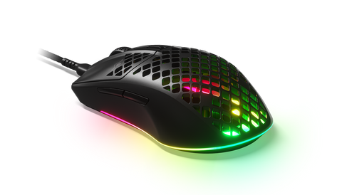 SS62599-STEELSERIES GAMING MOUSE - AEROX 3 - BLACK (PC)-STEELSERIES-Dynacor IT & Gaming Solutions
