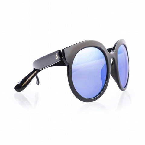 DIVA - Clear Black/ Blue Mirror