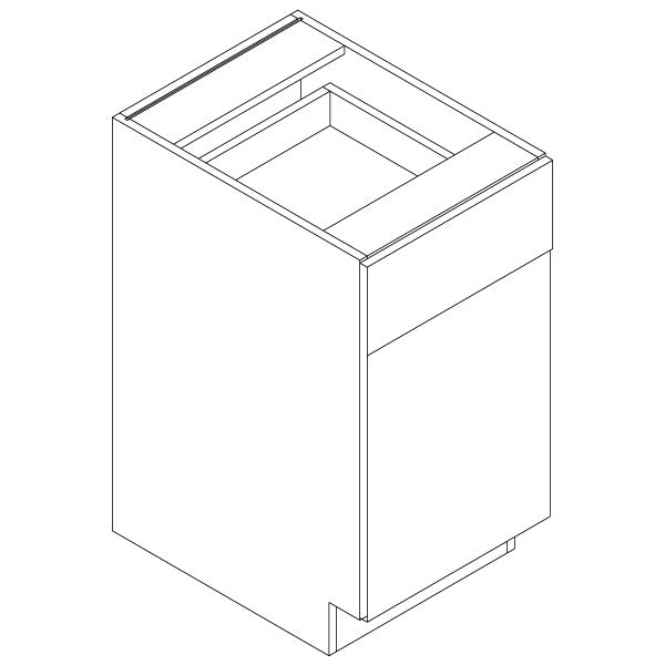 Standard Base Cabinets - Metro Gloss White