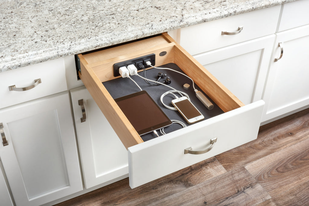 18'' Wood Charging Drawer Blum