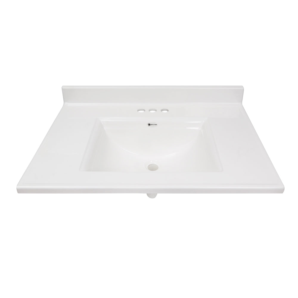 Pronto Vanity White 22'' x 31'' Top